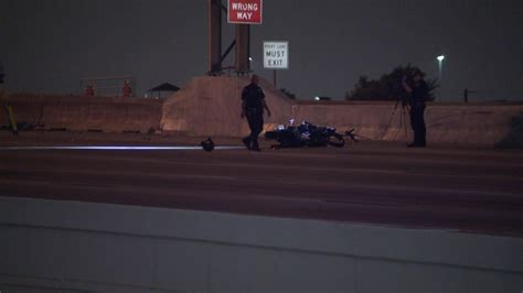 Wrongway Motorcyclist Killed In Crash On Katy Freeway Near