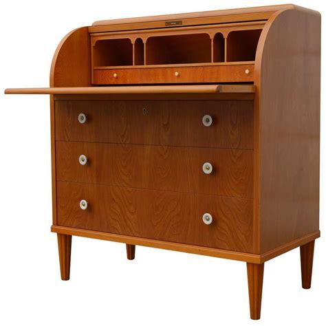 roll top secretary desk swedish art moderne elm roll top secretary writing desk