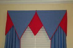 boys bedroom  board mounted valance window treatments