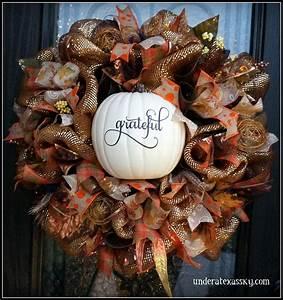 Fall Wreaths - Under a Texas Sky  Fall