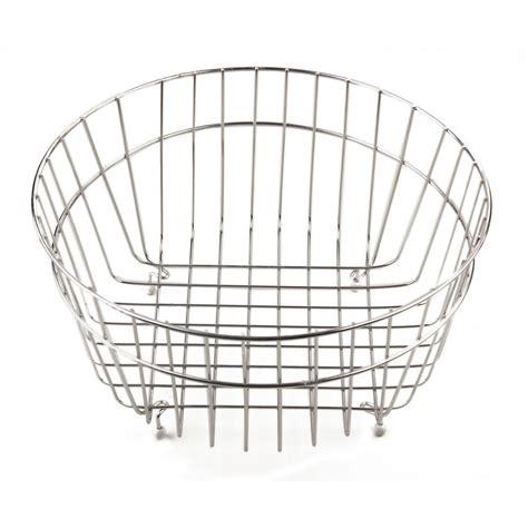 kitchen sink baskets white alfi brand basket for kitchen sinks in stainless steel 5648