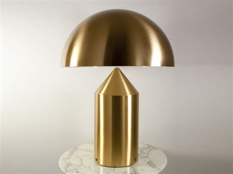 Oluce Atollo 233 Gold Table Lamp   Eames Lighting