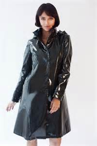 ladies jane post long shaped slicker raincoat work