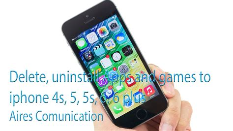 how to delete photos from iphone 5s delete uninstall apps and to iphone 4s 5 5s 6 6
