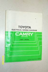 1988 2 Toyota Camry Vzv Series Electrical Wiring Diagram