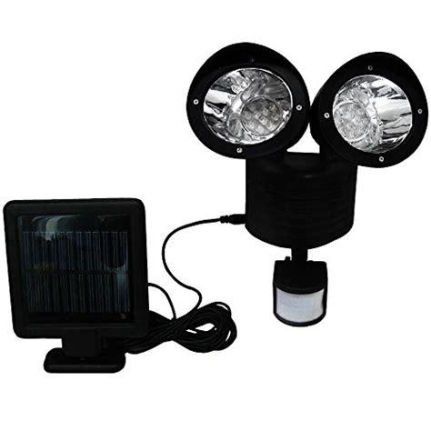 22 led dual light wall mounted solar pir motion sensor