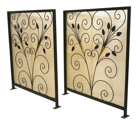deco room divider french art deco room dividers a pair chairish
