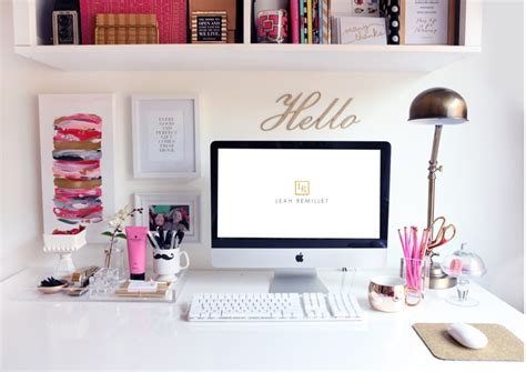 how to decorate a desk office inspiration beautiful places to create gather