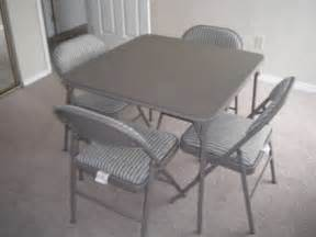 50 samsonite card table chairs for sale in richland