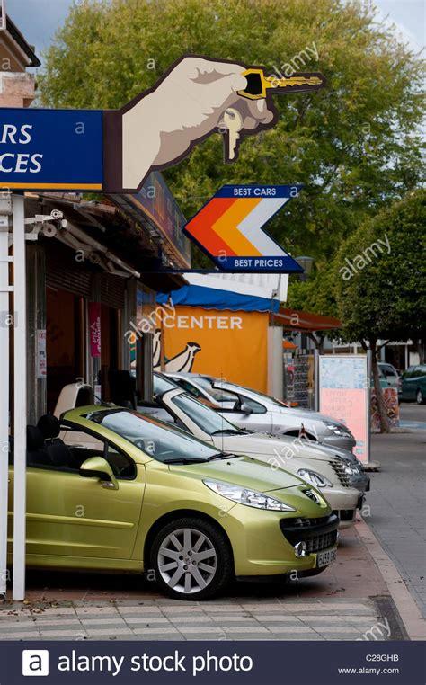 auto zu vermieten rental car stockfotos rental car bilder alamy
