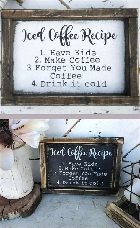 A weekly or monthly coffee subscription is a great way to bring some delight to your morning cup of coffee and help you expand your coffee palate. DIY Home Bar Decor Ideas - Personalized Home Bar Signs and ...