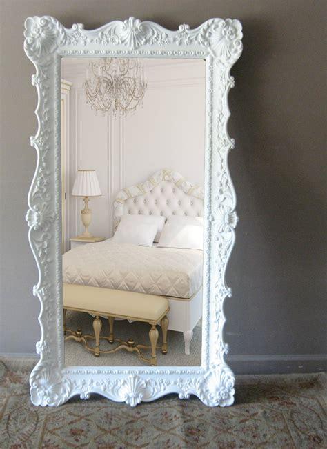 shabby chic floor mirror l e a n i n g mirror vintage floor mirror hollywood regency