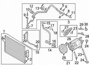 Ford Escape Bracket  Compressor  Liter  Mount  Alternator