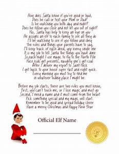elf on the shelf ideas for arrival 10 free printables With the elf on the shelf letters to santa