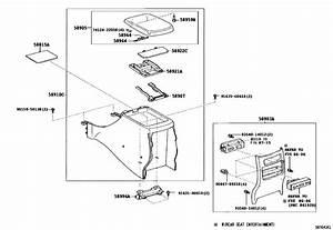 Console Box  U0026 Bracket For 2003