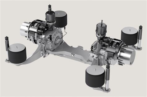 zf ave  electric portal axle