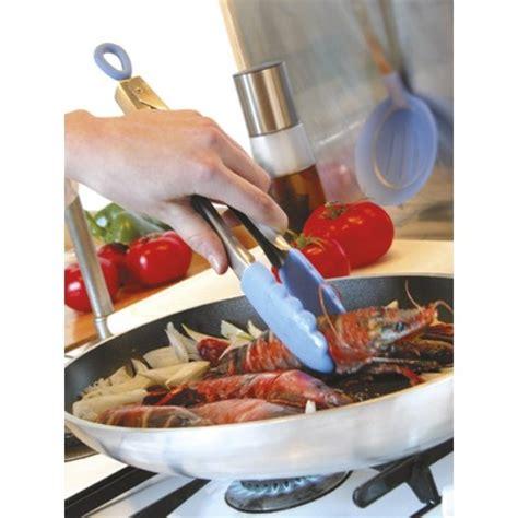 carpe cuisine pince de cuisine multifonction inox silicone mastrad la