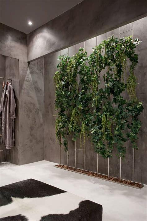 exotic indoor garden surrounding  zen inspired bath
