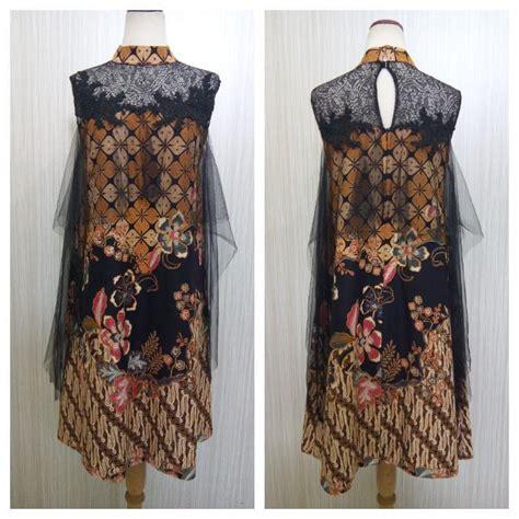 daftar harga baju batik modern kombinasi brokat termurah