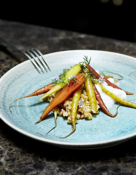 nouvelles recettes de cuisine carottes nouvelles épeautre et pesto à la coriandre pour