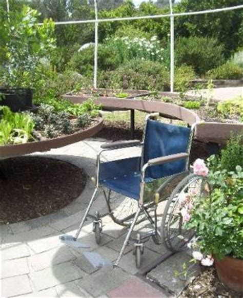 garden design ideas for the disabled and wheelchair user