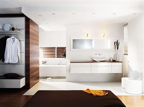 salle de bain ouverte sur chambre aménager la salle de bains galerie photos d 39 article 6 11