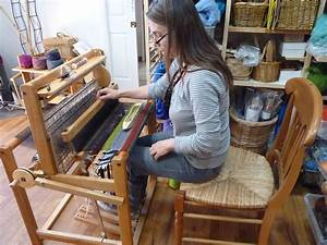 Centering With Fiber  Saori 4 Harness Loom Debut