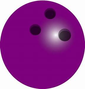 Purple Bowling Ball Clip Art at Clker.com - vector clip ...