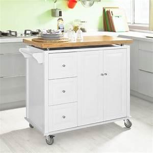 Sobuy neu luxus kuchenwagen arbeitsplatte aus for Rollwagen küche