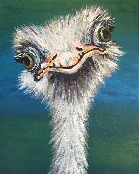 images  ostrich art  pinterest