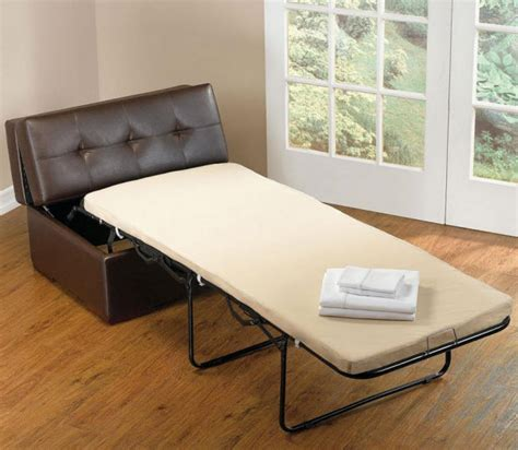 ottoman converts to a guest bed faux leather ottoman that converts into bed whereibuyit com