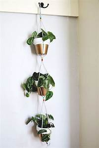 Gold Dipped Hanging Planters – A Beautiful Mess