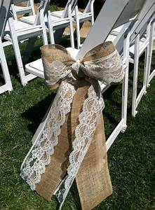 22 rustic burlap lace wedding ideas for Burlap and lace wedding decorations