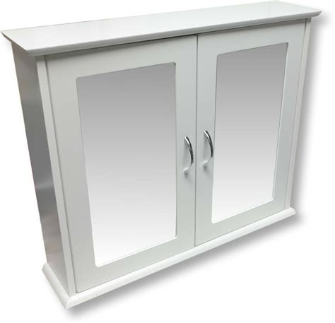 White Mirrored Bathroom Cabinets by Mirrored Bathroom Cabinet Ebay