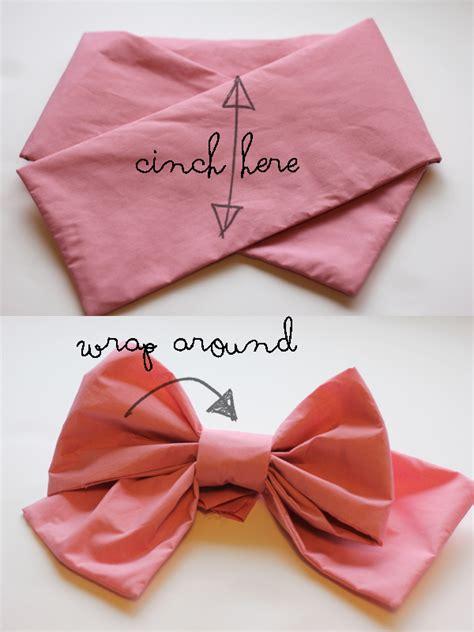 big huge pink bow tutorial  kate sew
