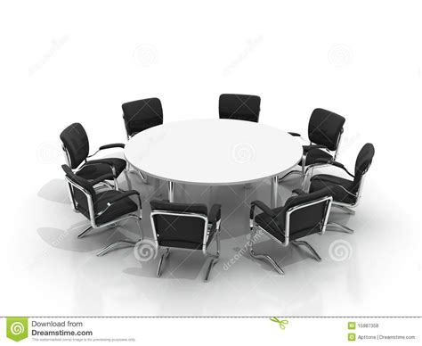 conference table and chairs royalty free stock photos