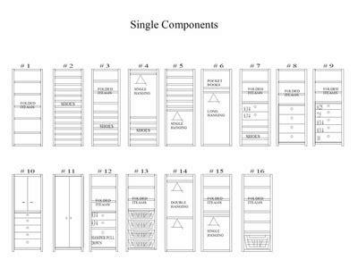 Closet Components closet components