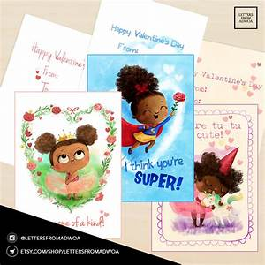 Letters From Adwoa - African American Valentine's Cards ...