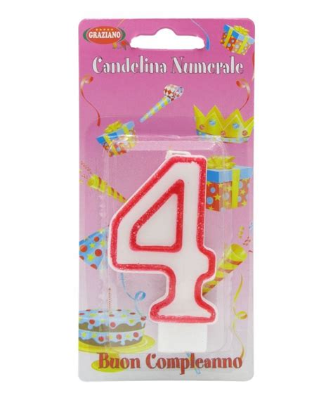Candela Compleanno by Candela Compleanno N 176 4 Drogheria Olimpia Shop
