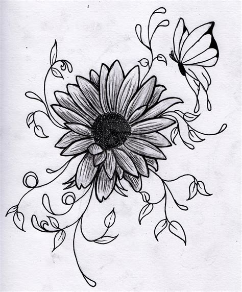 drawing  flowers   clip art  clip