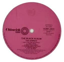 damned  black album uk  lp vinyl record set