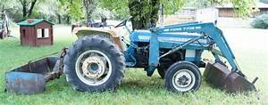 Ford 3 Cylinder Diesel Tractor