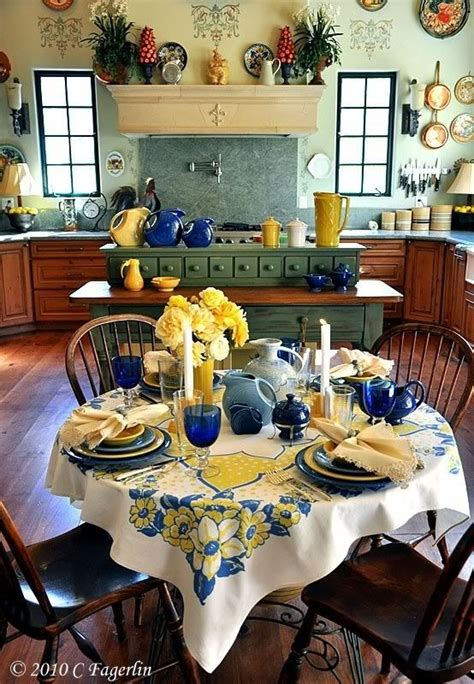 41 best blue and yellow kitchens images on