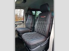 VW Transporter T5 Kombi Seat Covers Charcoal Grey with