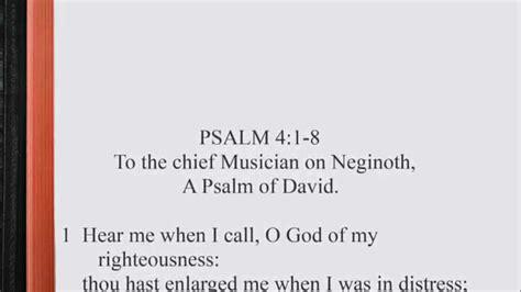 psalm   kjv scripture song alternate version