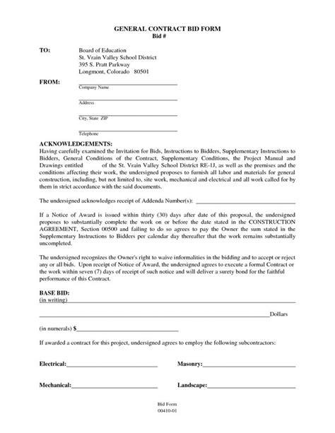 General Contractor Contract Sample | Contractor contract, Construction contract, Contract template