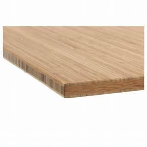 Tapis Bambou Ikea : plan de travail bambou plan de travail en bambou massif castorama cuisine pinterest plan de ~ Teatrodelosmanantiales.com Idées de Décoration
