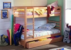 Lit Superposé Tiroir : acheter votre lit superpos avec option tiroir lit chez simeuble ~ Teatrodelosmanantiales.com Idées de Décoration