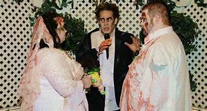 Las vegas weddings las vegas zombie themed wedding package for Crazy las vegas weddings
