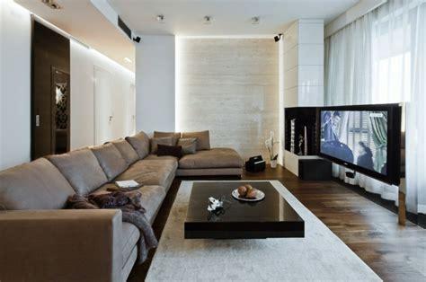 wohnzimmer einrichten ideen  weiss schwarz und grau